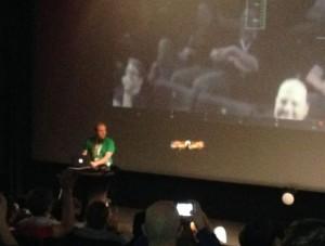 Drone filmt Publikum auf dem DC13